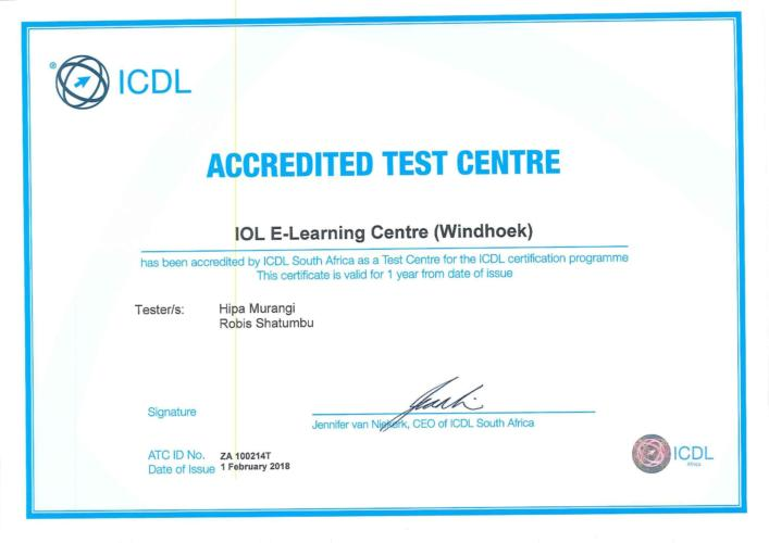 ICDL Certificate-1